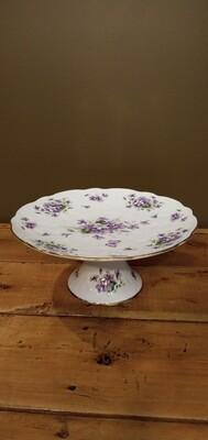 Dessert Tray -Aynsley Wild Violets