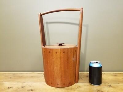 Teak Ice Bucket- Ernest Sohn