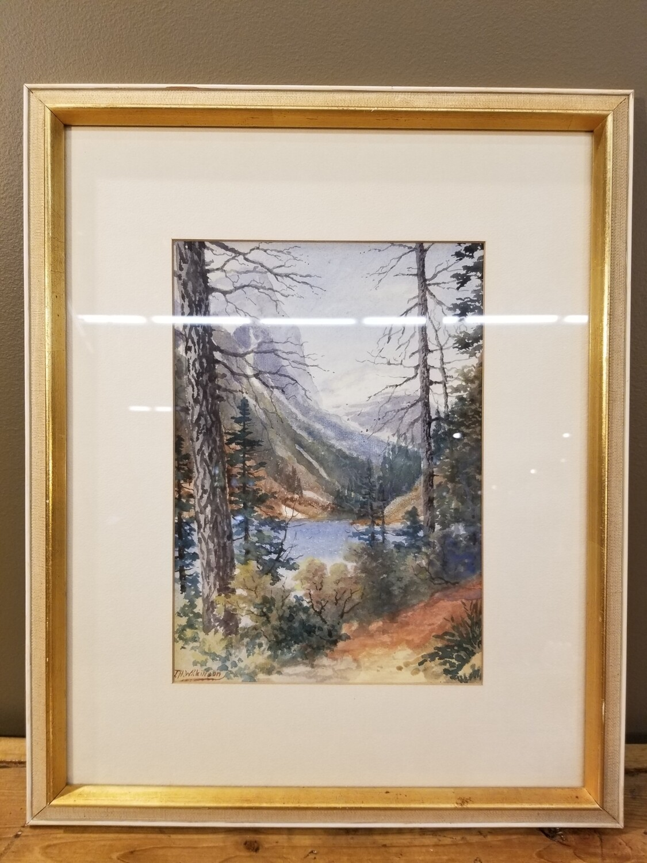 T.H. Wilkinson Watercolor