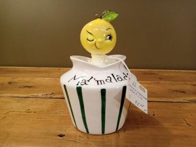 Lefton Marmalade Jar & Lid