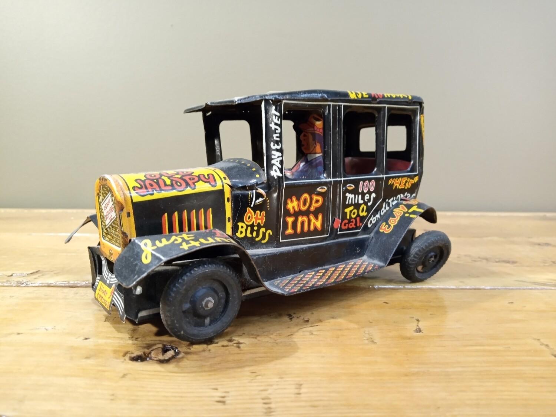 Old Jalopy Tin Toy