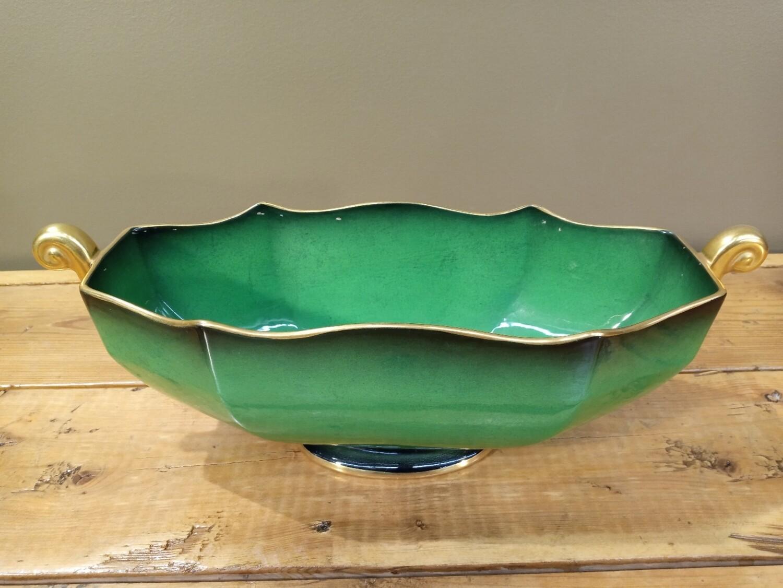 Carlton Ware Green Bowl
