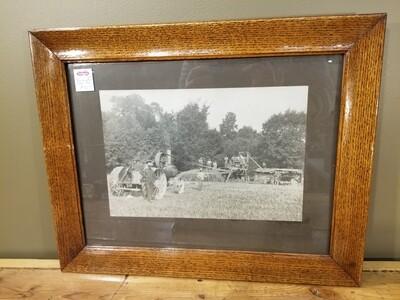 Threshing Photo- Exeter, On.- J. Senior