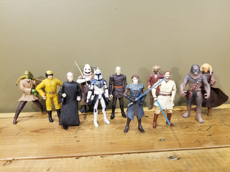 Set of Star Wars Figures