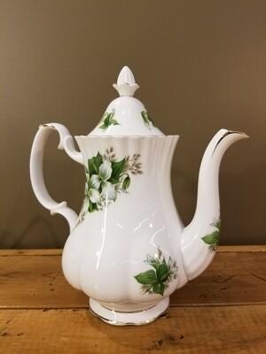 Royal Albert Coffee Pot- Trillium