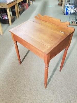 Antique Slant Top Desk- Cherry