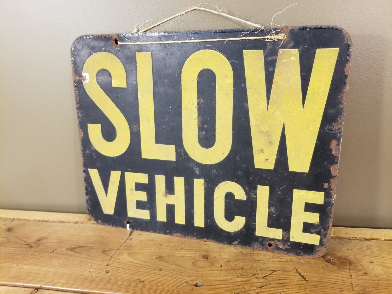 1930s/40s Vehicle Sign