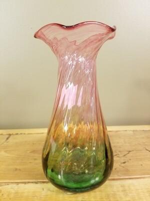"""""""Gibralter"""" Watermelon Vase"""