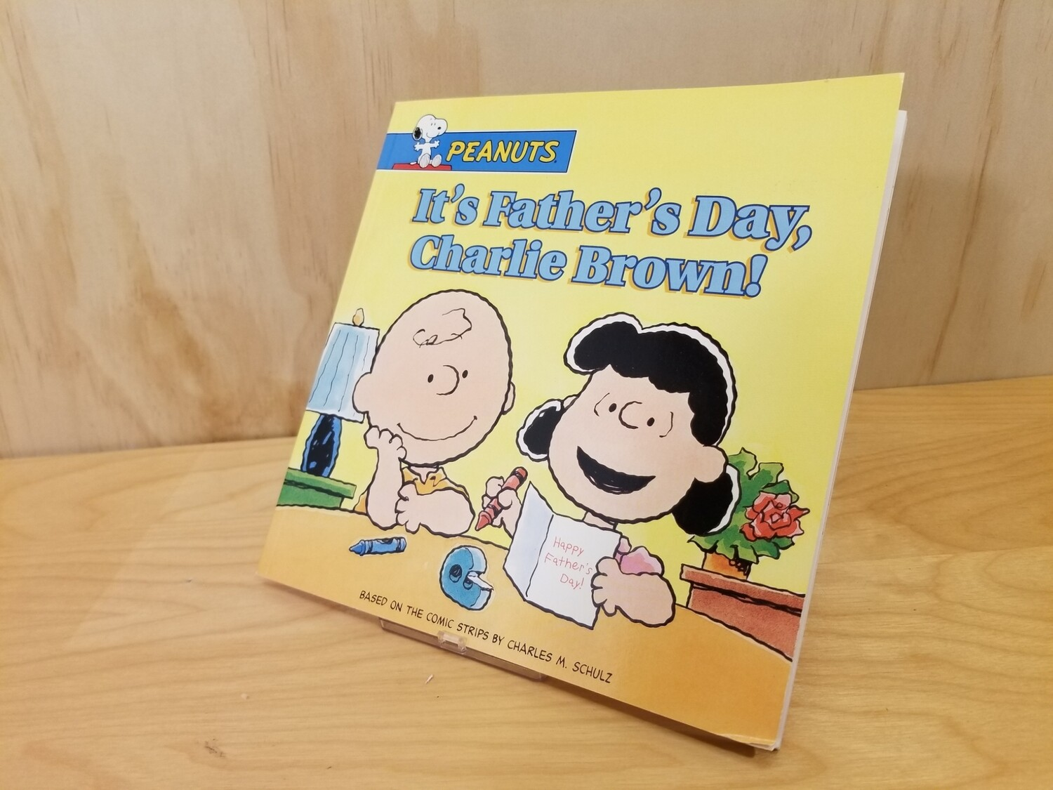 It's Father's Day Charlie Brown! Book