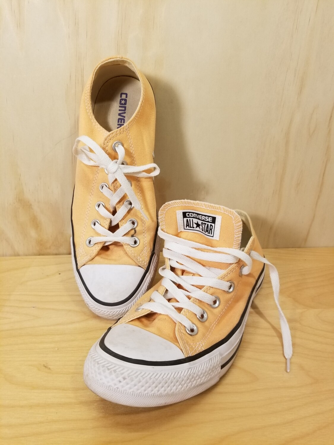 Peach Colored Converse Shoes
