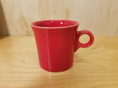 Fiesta Ring Handled Mug- Scarlet