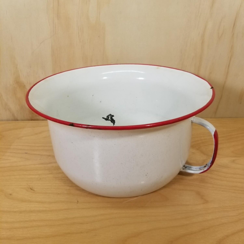 Enamelware Chamber Pot