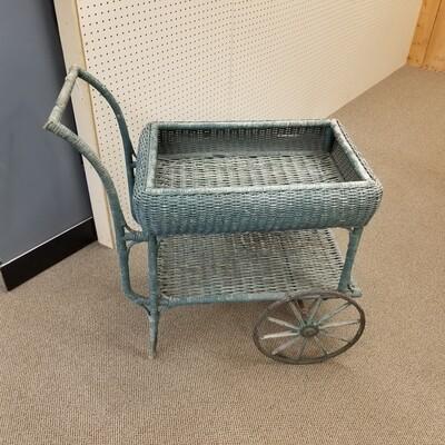 Wicker Tea Cart- 1920s/30s