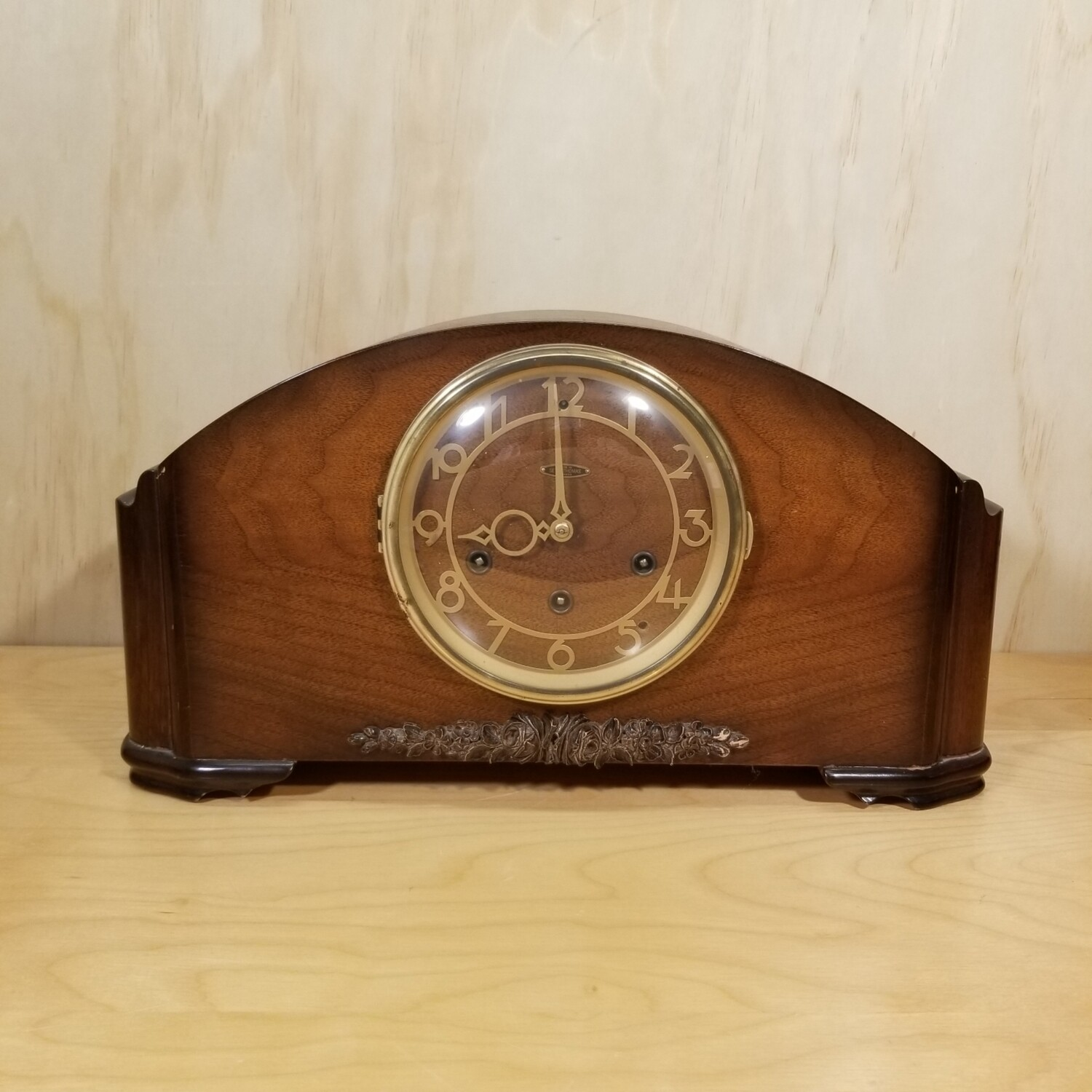 Seth Thomas 8 Day Mantel Clock with Westminister Chimes