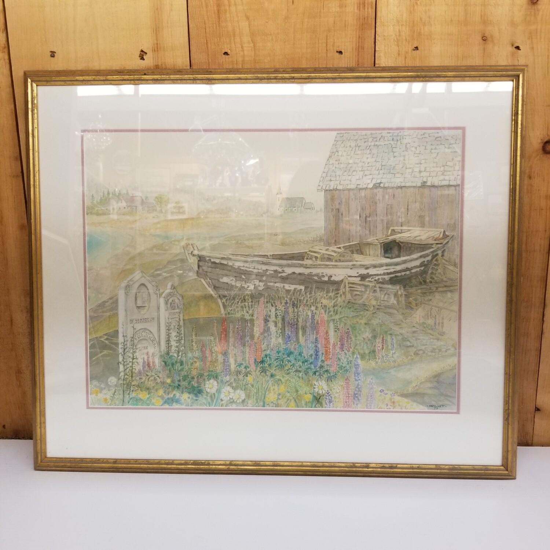 Watercolour - Craig Mooney - Pioneer Place
