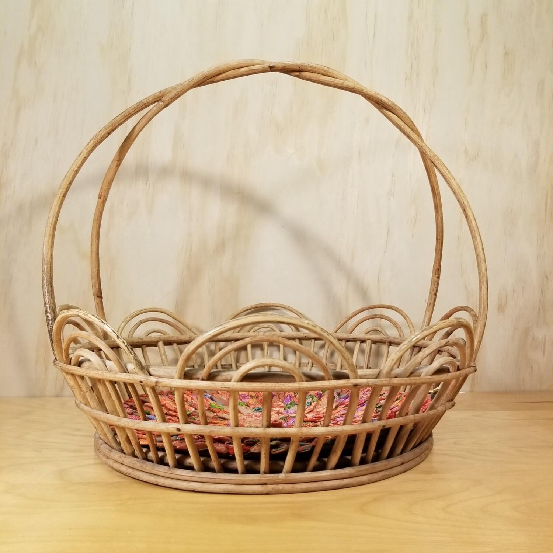 Rattan Basket + Liner