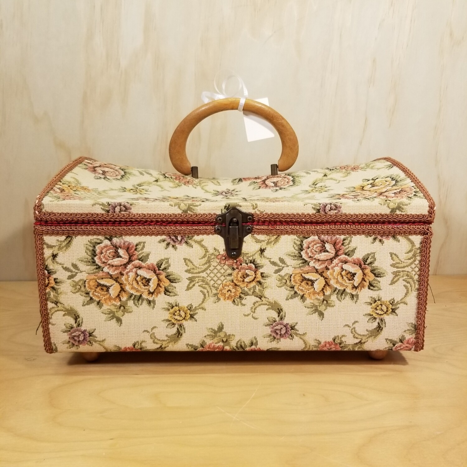Tapestry Sewing Box
