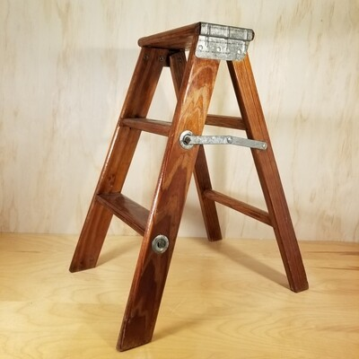 Small, Old, Wooden Ladder
