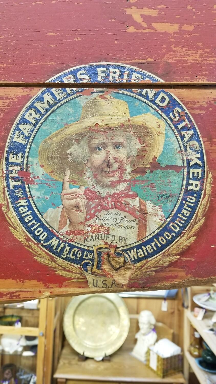 Antique Thresher Label- Waterloo, On.