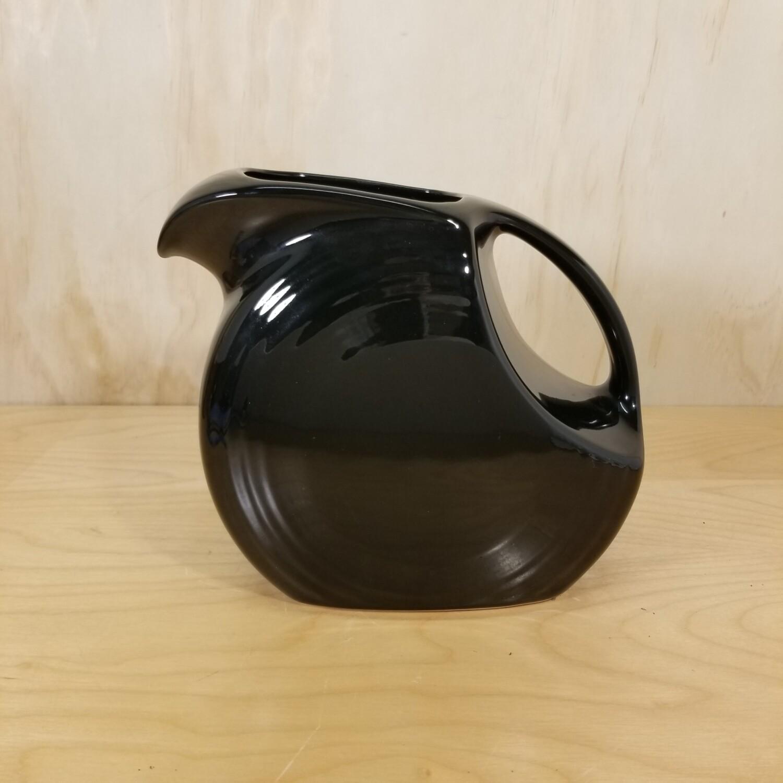 Black Disk Pitcher