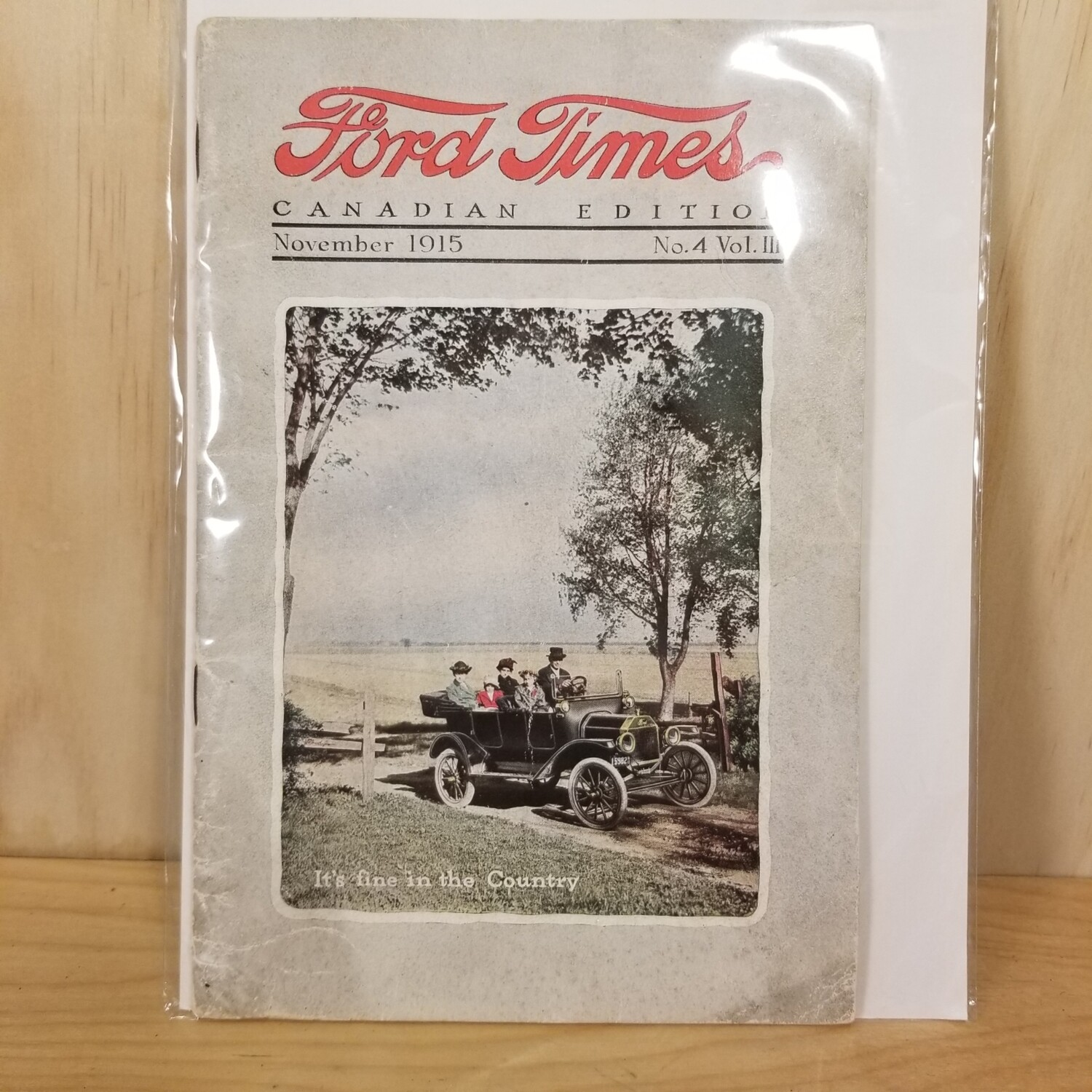 1915 Ford Times Magazine