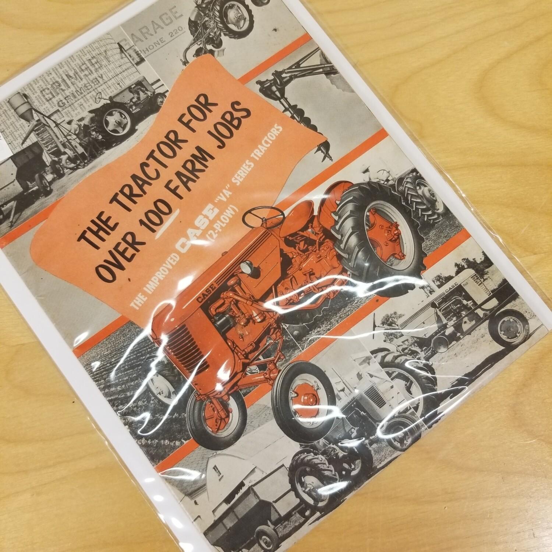 Case Tractor VA Series Brochure