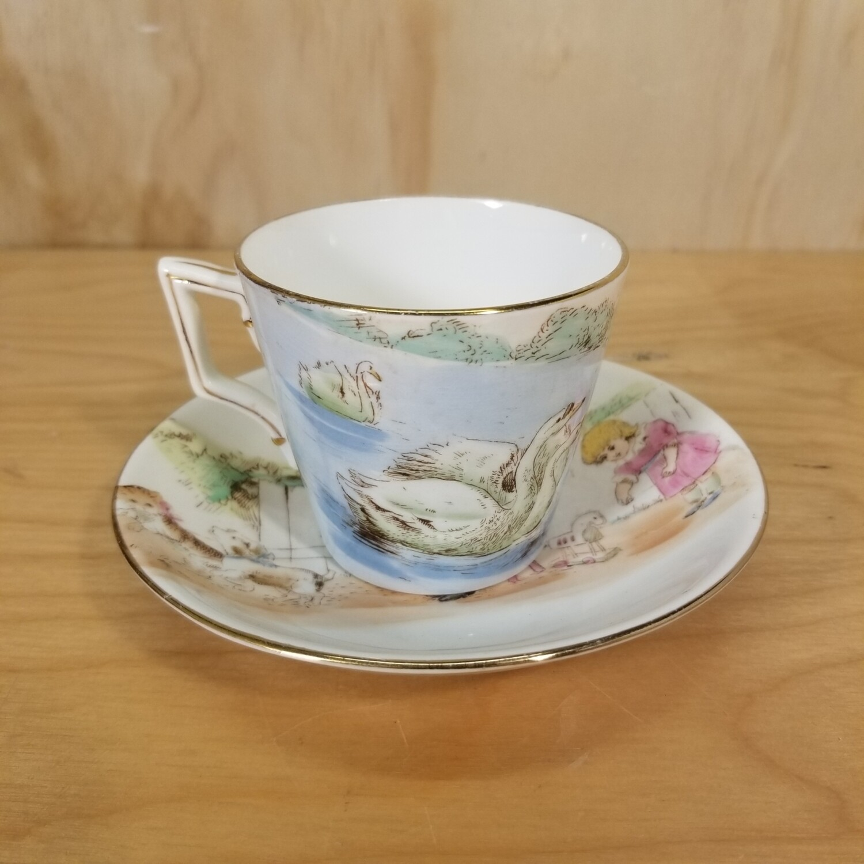 Shelley Foley Nursery Cup and Saucer