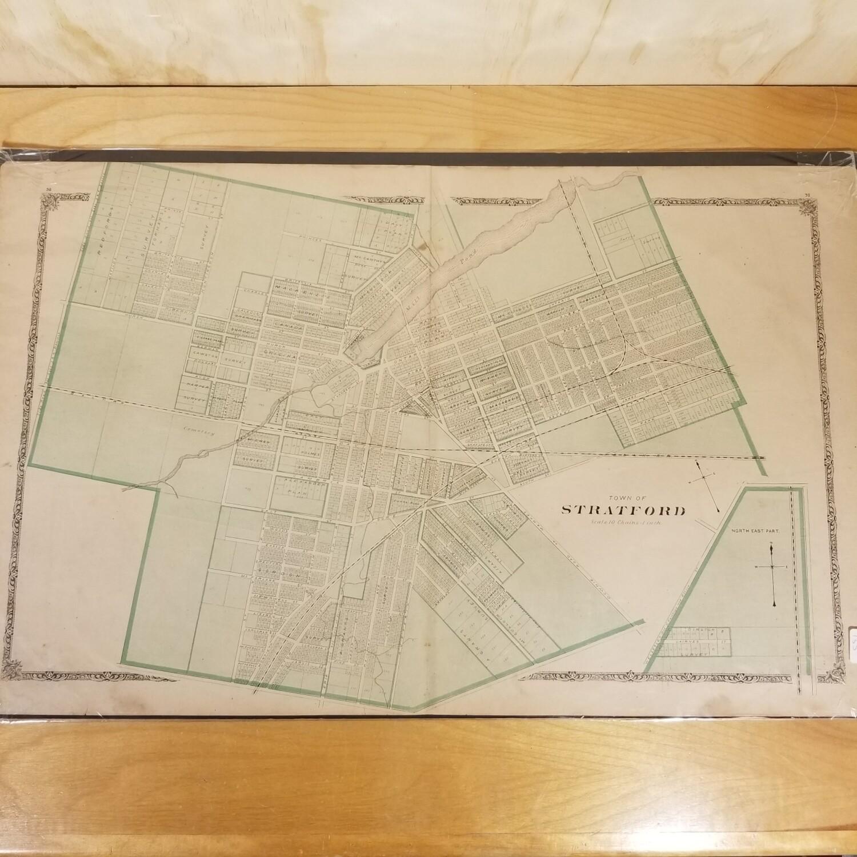 Stratford Map - 1880