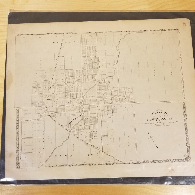 Listowel Map -1875