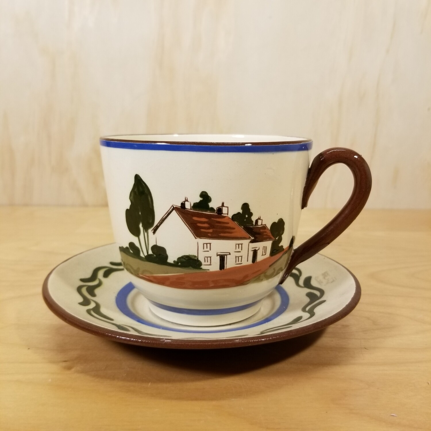 Torquay Cup and Saucer (Large)