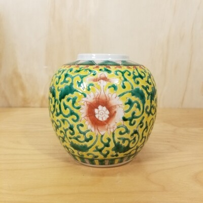 Chinese Ginger Jar - early 1900