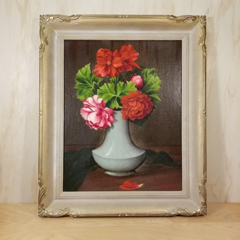 Clara Haggarty - Geraniums - 1871-1958