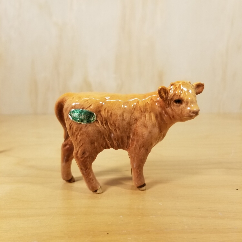 Vintage Beswick 1837D Highland Calf
