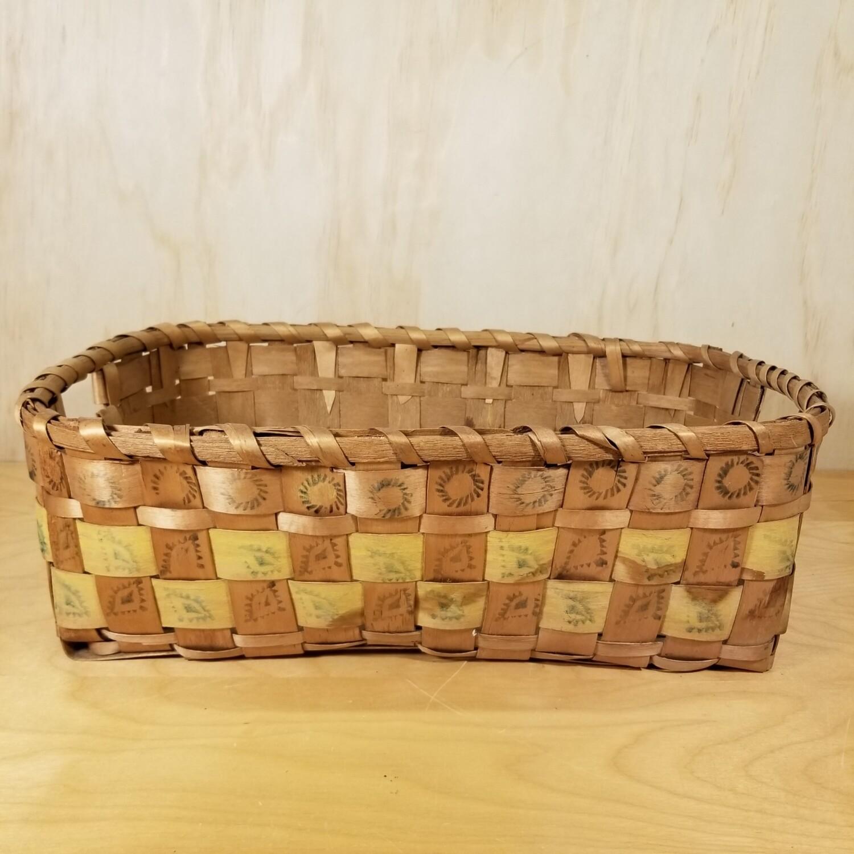 Potato Stamp Basket
