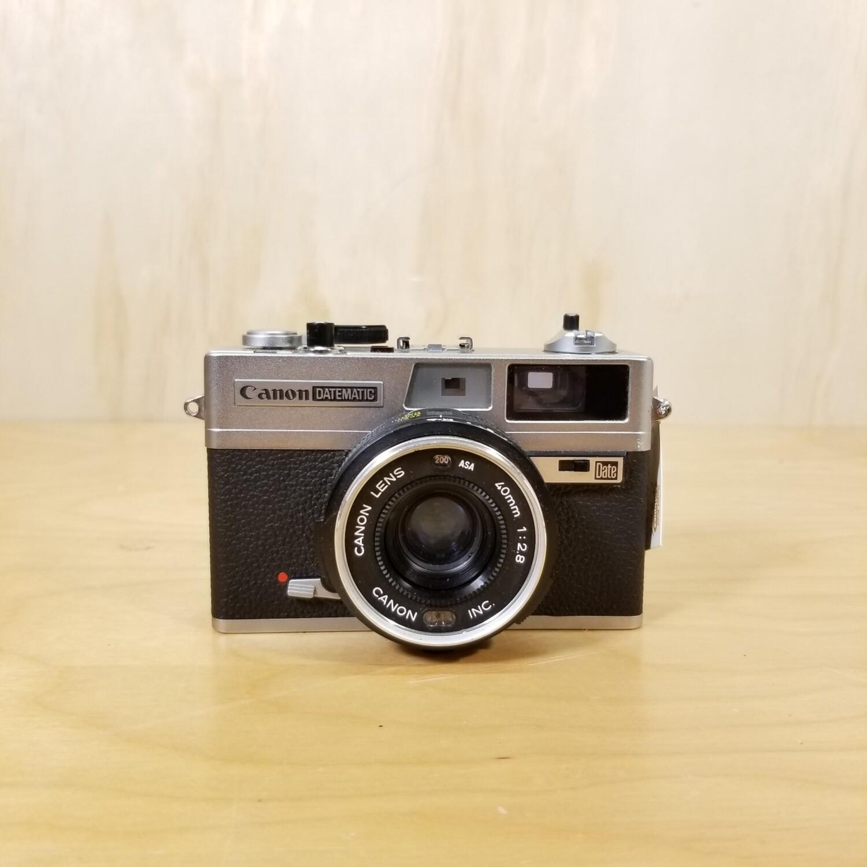 Vintage Canon Datematic