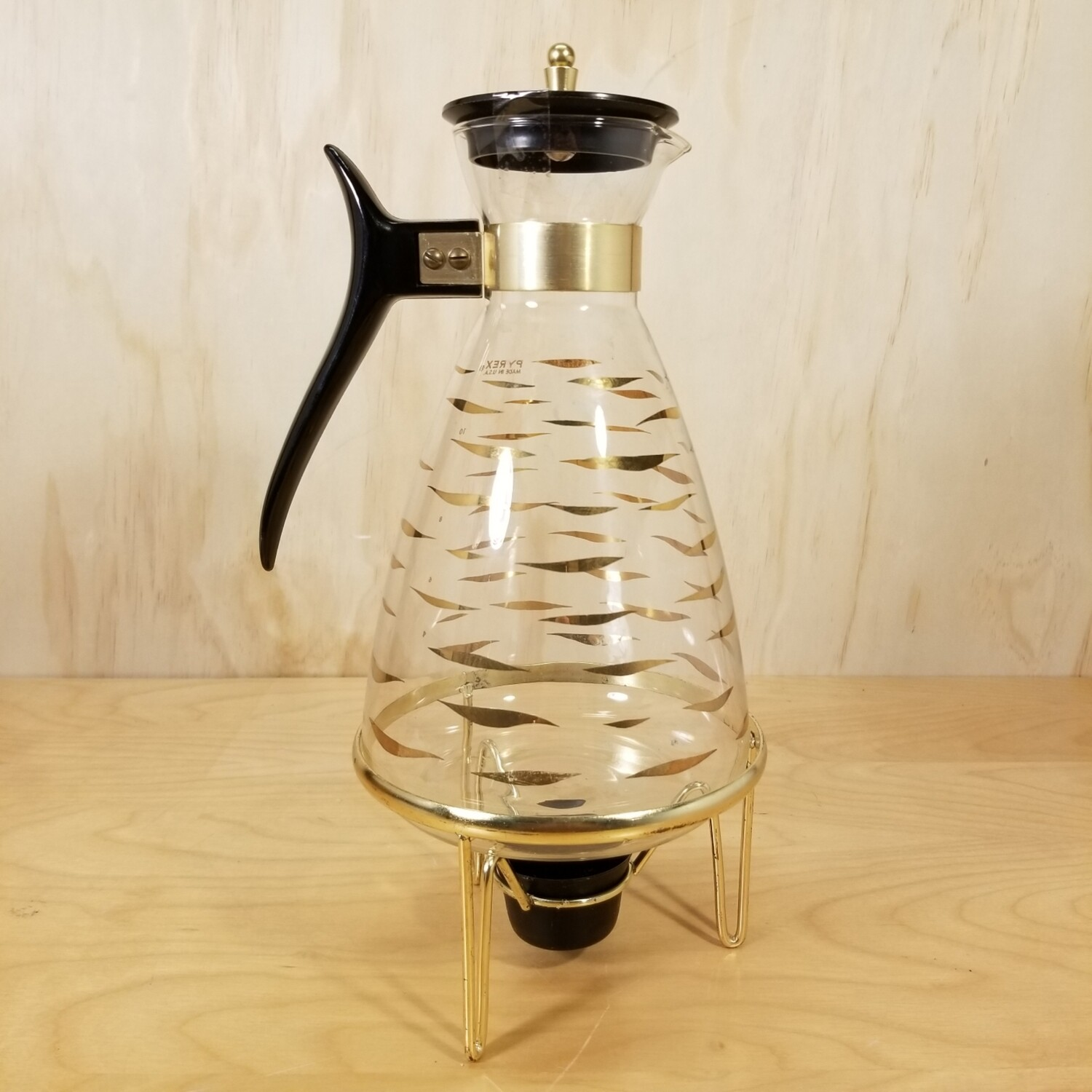 Pyrex Carafe with Warmer