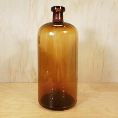 Amber Druggists Bottle