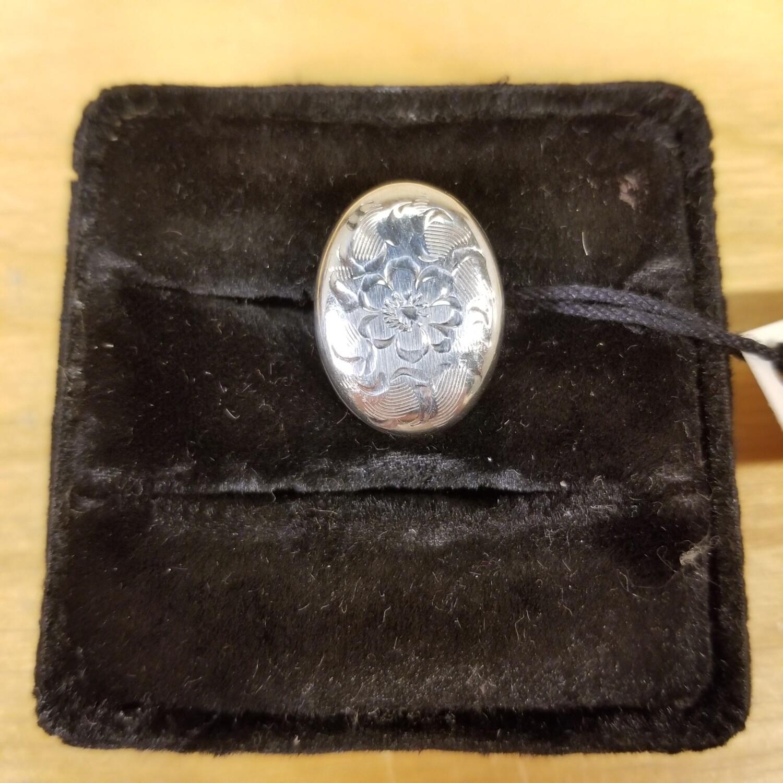 Berks Sterling + Engraved Ring