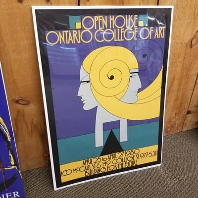 Open House Ontario College of Art 1980