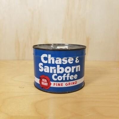 Chase & Sanborn 1lb Coffee Tin (Full)