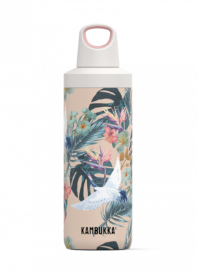 Veepudel Kambukka Reno Insulated 500 ml, paradiisi lilled, 11-05003