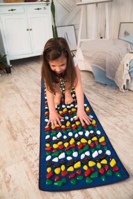 Massaažimatt jalgadele IGORA FOOT MAT 200 х 40 cm, sinine, MS-1269-1