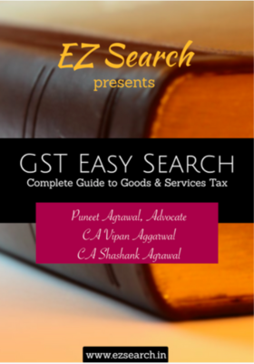 GST Easy Search - Complete Guide to Goods and Service Tax