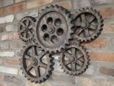 Multiple Cog Wall Art