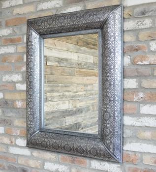 Embossed Wall Mirror