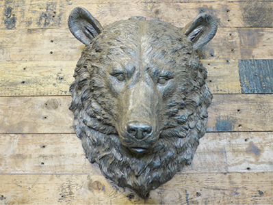 Bears Head Wall Decoration
