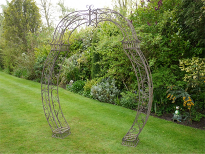 Brown Garden Arch