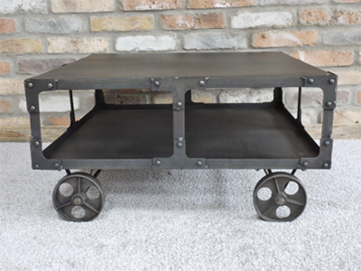 The Stephenson Industrial Coffee Table
