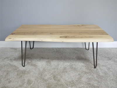 The Ashdown Living Edge Coffee Table