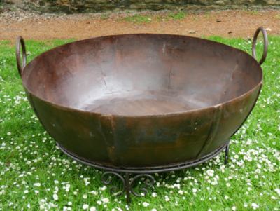 Giant Kadai Fire Bowl